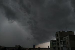 У Києві завтра очікується гроза