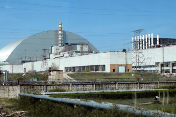 Le chef du ministère des Affaires étrangères de la France a visité Tchernobyl