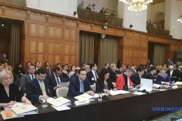ハーグの国際司法裁判所にて、ウクライナ対ロシアの公聴会開始 7日まで継続
