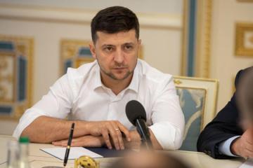 ゼレンシキー大統領、EU首脳陣との会談で露への圧力問題を提起すると発言