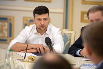 Präsident Selenskyj an Russland nach Tod von drei Soldaten in der Ostukraine: Eskalation keine gute Voraussetzung für Gespräche in Minsk