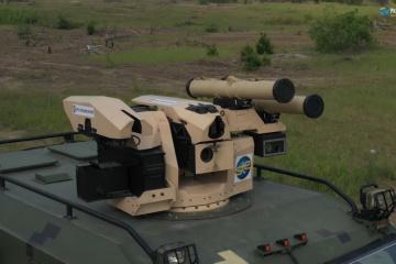 """Módulo de lanzamiento de misiles antitanque ucraniano-turco """"Serdar"""" pasa con éxito la prueba (Vídeo)"""