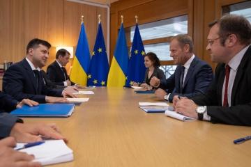 ゼレンシキー大統領、EUに対露制裁の強化を呼びかけ