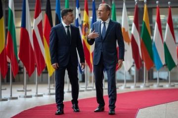 Zelensky, Tusk discuss Nord Stream 2 in phone call