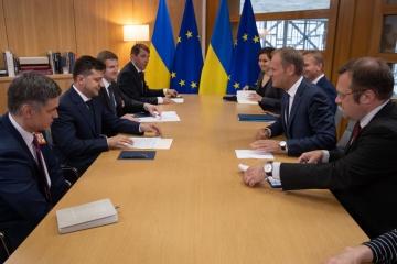 Donald Tusk: l'UE poursuivra son soutien financier à l'Ukraine