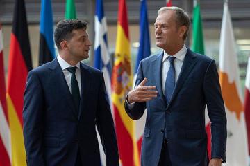 トゥスク欧州理事会議長「EUは引き続きウクライナの最善の友人、忠誠心ある同盟相手」