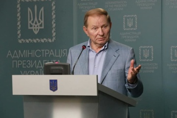 Kuchma discusses release of detainees with OSCE coordinator