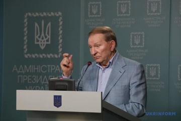 Kutschma erörtert mit französischem Botschafter Umsetzung Minsker Abkommen