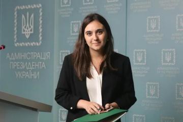 Yulia Mendel estime que la langue russe «ukrainienne» fait partie de la diversité culturelle de l'Ukraine