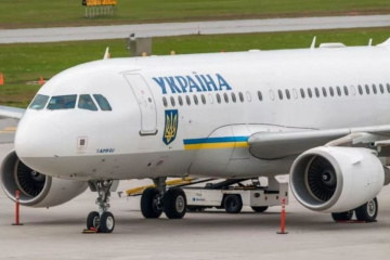 Plane with released Ukrainians lands at Boryspil Airport