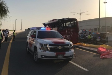 No Ukrainians among victims of bus accident in Dubai