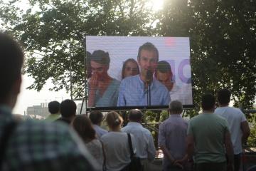 音楽家ヴァカルチューク氏の声党、最高会議選挙の同党候補者を発表