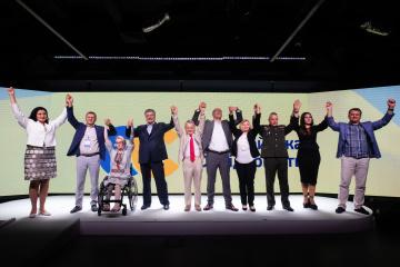 ポロシェンコ前大統領率いる欧州連帯党、比例名簿の上位10名を発表