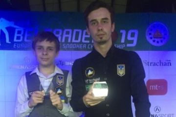 L'Ukraine a remporté ses premières médailles dans les compétitions internationales de snooker