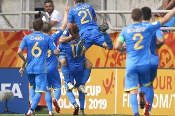 Ukraine beats Italy, progresses to U20 final