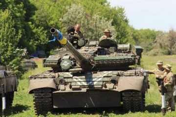 Russian-led forces launch 28 attacks on Ukrainian troops in Donbas, one soldier wounded