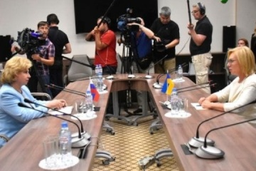 Ukrainian, Russian ombudsmen agree to create working group on release of convicts