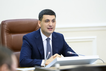 PM Groysman: All regional centers to be linked with high-quality roads by 2021