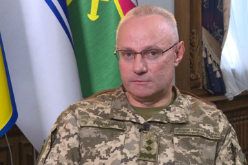 Nobody ordered Ukrainian military in Donbas not to return fire - Khomchak