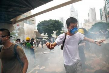 Протести у Гонконзі: поліція нарахувала майже 150 затриманих