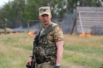 JFO commander shows US delegation evidence of Russian aggression in Donbas