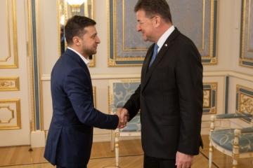 Zelensky et le président de l'OSCE ont discuté du redémarrage du groupe de Minsk