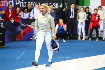 Kharlan wins gold medal at European Fencing Championships
