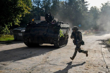 Russian-led forces launch 15 attacks on Ukrainian troops in Donbas