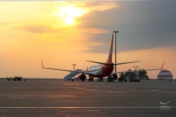 El aeropuerto de Járkov y la aerolínea SkyUp inaugura un vuelo regular a París