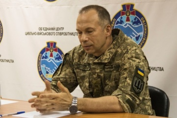 JFO commander and OSCE delegation discuss bilateral ceasefire