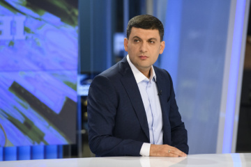 Groysman calls on NewsOne not to hold TV link-up with Russia 24