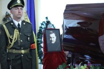 Une cérémonie d'adieu à Dmytro Tymtchuk se déroule à Kyiv  (photos)
