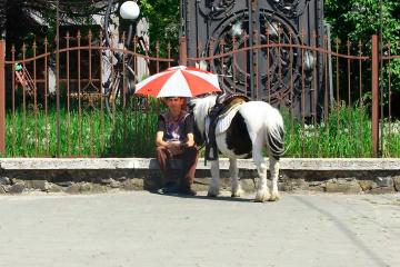 Aujourd'hui, la chaleur s'abat sur l'Ukraine