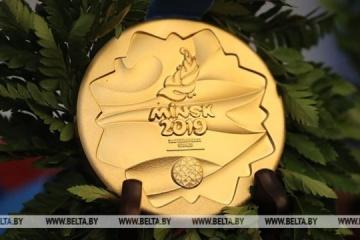 Ucrania gana 11 medallas y ocupa el 3 lugar después de la segunda jornada de los Juegos Europeos 2019 (Vídeo)