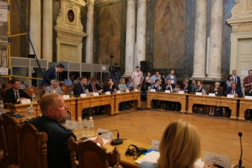 Ukraine-NATO Inter-Parliamentary Council meeting begins in Lviv. Photos
