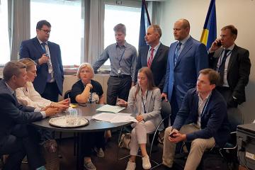 Ukrainische Delegation setzt Teilnahme an PACE aus