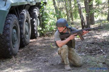 Im Donbass kommen feindliche Granatwerfer zum Einsatz, ein Soldat verwundet