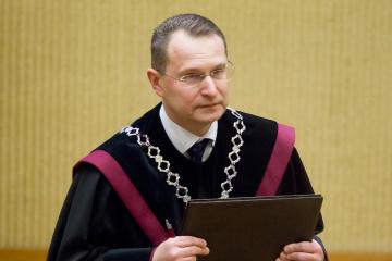 Стосовно суддів КС Білорусі необхідно ввести санкції - голова Конституційного суду Литви