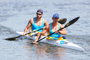 Экипаж байдарки-двойки принес Украине двадцатую медаль на Европейских играх-2019
