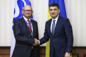 Ukrainian prime minister, ODIHR EOM head discuss snap parliamentary elections