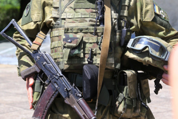 Russian-led forces launch 24 attacks on Ukrainian troops in Donbas