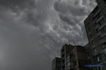 Météo : La tempête arrive à Kyiv, les températures vont descendre