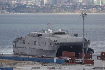 US-Kriegsschiff USNSYuma auf dem Weg ins Schwarze Meer