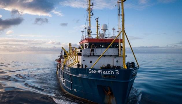 В Італії розблокували німецьке рятувальне судно Sea Watch 3