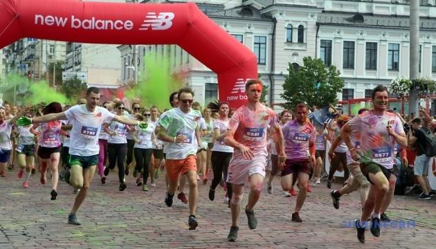 У Києві пробігли Kyiv Color Run 2019