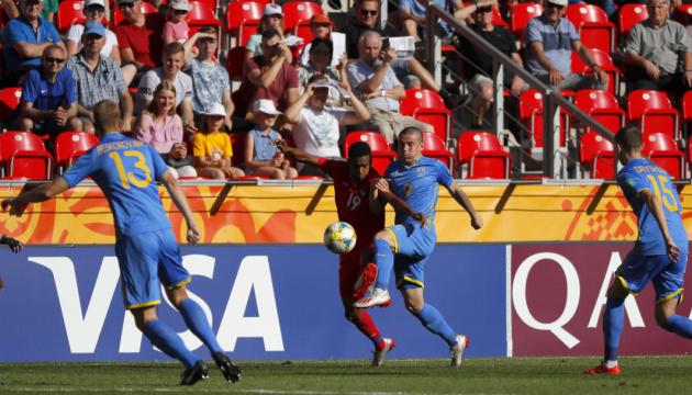Збірна України вперше вийшла до 1/4 фіналу юнацького чемпіонату світу з футболу