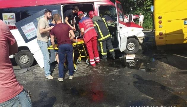 Twenty-six people injured in road accident in Kyiv region