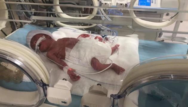 У Туреччині рятують немовля з України, яке народилося вагою менше кілограма