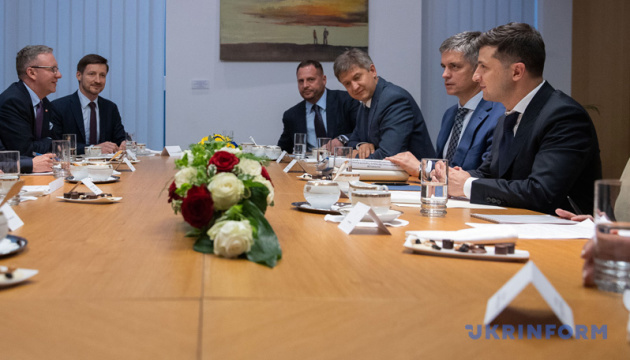 Зеленский считает евроинтеграцию залогом независимости Украины