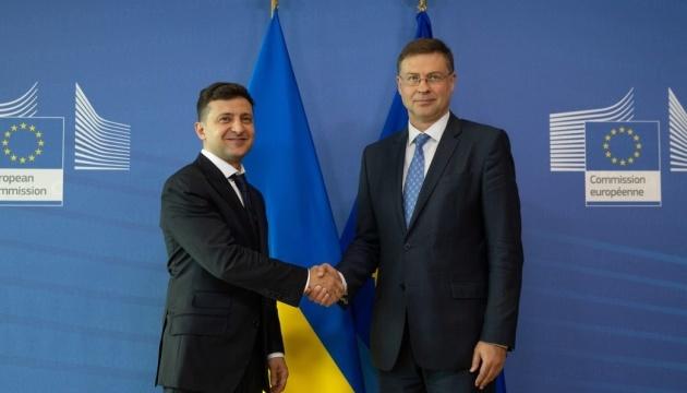 Україна готова виконати умови для отримання €500 мільйонів від ЄС - Президент